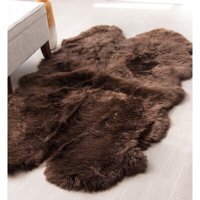 Quarto Handmade Brown Area Rug