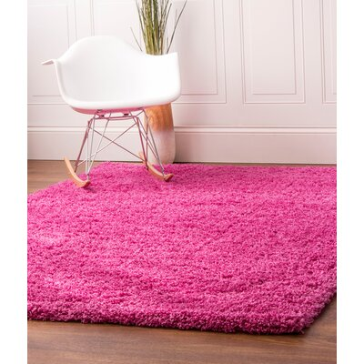 Pink Area Rug Rug Size: 2 x 3