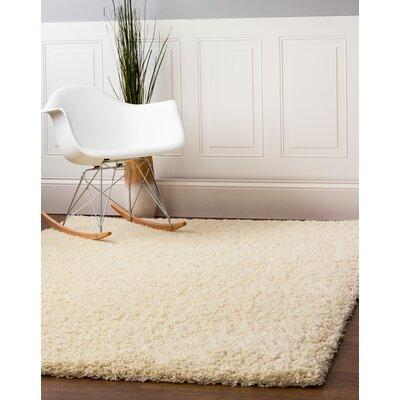 Aurea Vanilla Cream Area Rug Rug Size: 7 10 x 9 10