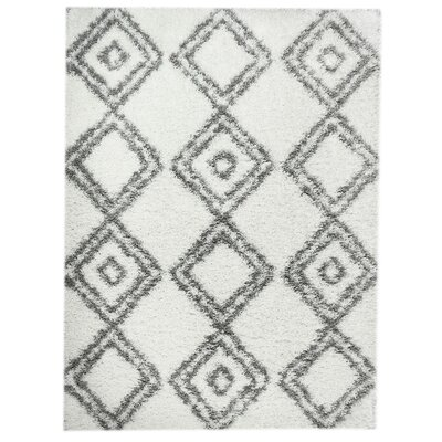 Acevedo White/Gray Area Rug
