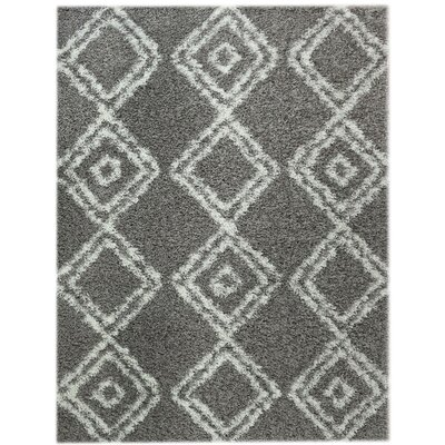 Acevedo Gray/White Area Rug