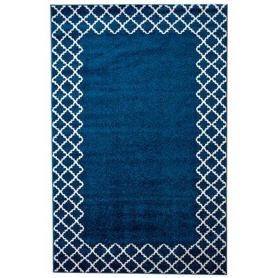 Biggsville Blue Area Rug Rug Size: 5 x 8