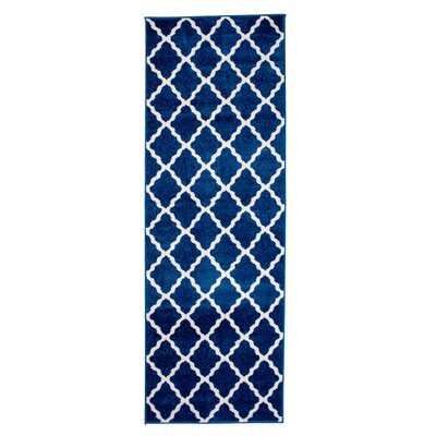 Madison Avenue Blue Area Rug Rug Size: Runner 2'7