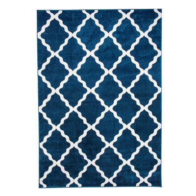 Madison Avenue Blue Area Rug Rug Size: 5 x 8