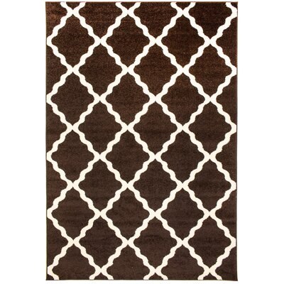 Madison Avenue Brown Area Rug Rug Size: 5 x 8