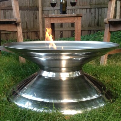 Stainless Steel Outdoor Fire Pit PM37720