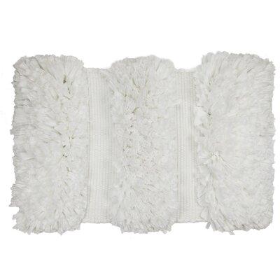 Olivio Hand-Woven White Area Rug