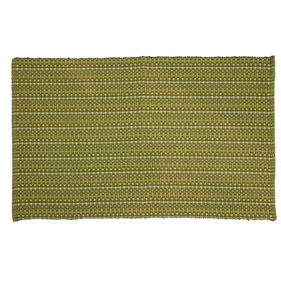 Desert Hand-Woven Sage Area Rug Rug Size: 19 x 28
