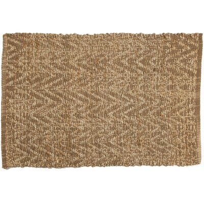 Scatter Hand-Woven Natural Area Rug Rug Size: 3 x 5