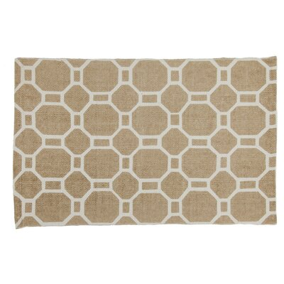 Hollywood Handmade Beige Area Rug Rug Size: 2 x 3