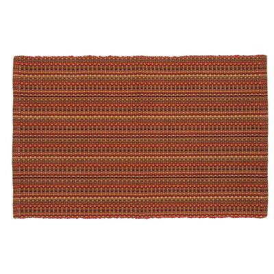 Desert Hand-Woven Garnet Area Rug Rug Size: 3 x 5