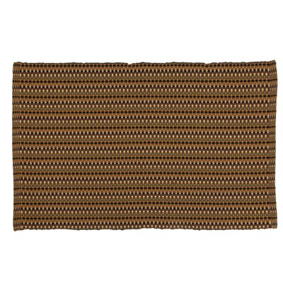 Desert Hand-Woven Tobacco Area Rug Rug Size: 3 x 5