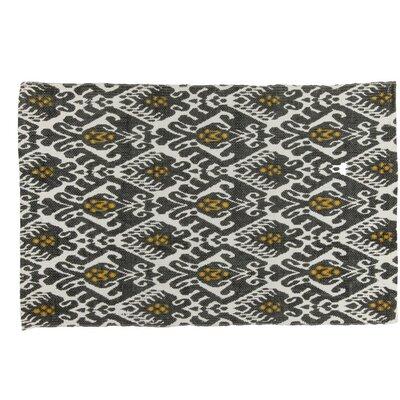 Hadick Handmade Grey Area Rug Rug Size: 2 x 3