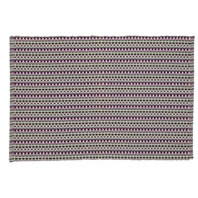 Terrazzo Hand-Woven Charcoal Area Rug Rug Size: 19 x 210
