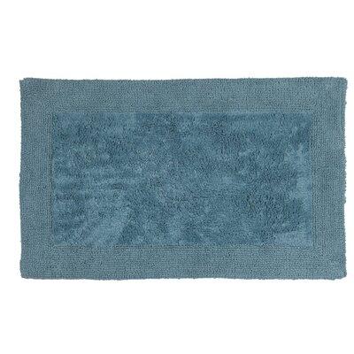 Simple Border Bath Rug Size: 40 L x 24 W