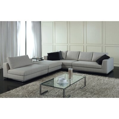 Leonard Sectional Collection Upholstery: Merinos Fabric