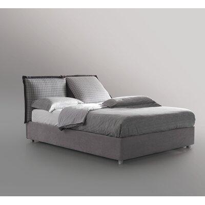 King Upholstered Storage Platform Bed