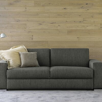 Infinito Queen Loveseat Upholstery: Dark Gray