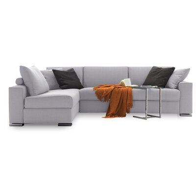 Infinito Sleeper Sectional Upholstery: Beige