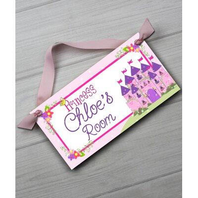 Princess Personalized Bedroom Door Sign DS0024