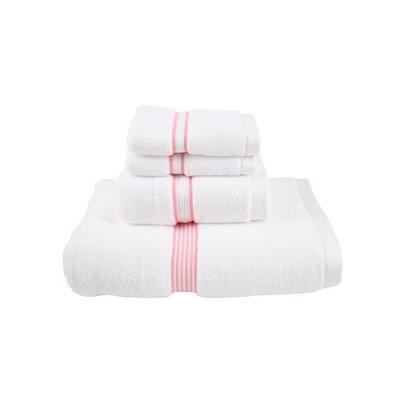 Luxury Performance Core 4 Piece Towel Set Color: Rose