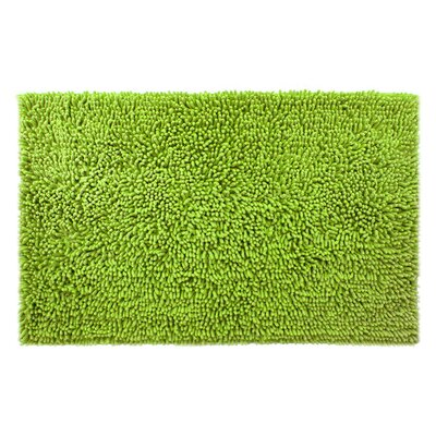 Chenille Bath Rug Rug Size: 3 x 311, Color: Green Apple