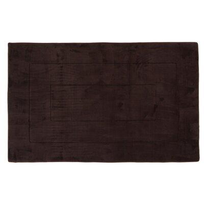 Ultra-Soft Memory Foam Bath Rug Size: 24 W x 90 L, Color: Brown