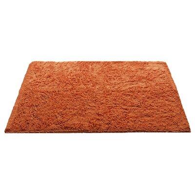 Chenille Bath Rug Rug Size: 3 x 311, Color: Orange