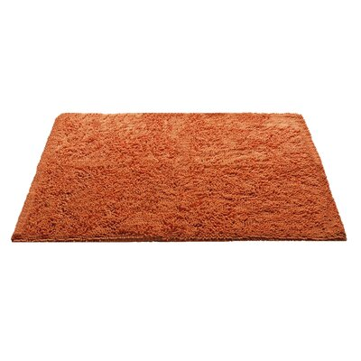 Chenille Bath Rug Rug Size: 3 x 311, Color: Orange