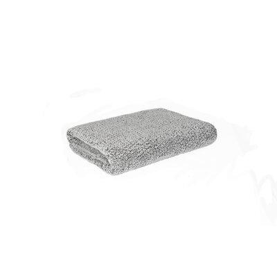 Diamond Jacquard Bath Towel Color: Gray