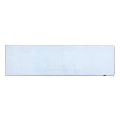 Ultra-Soft Sky Blue Area Rug Rug Size: Runner 2 W x 5 L
