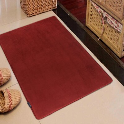 Memory Foam Kitchen Mat Color: Marsala