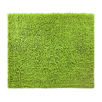Chenille Bath Rug Rug Size: 24 x 3, Color: Green Apple