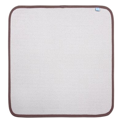 Dish Drying Mat Color: Beige, Size: 16