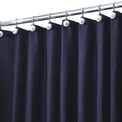 Melville Shower Curtain Color: Navy