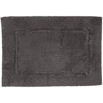 Clarke Bath Rug Color: Pewter, Size: 21 W x 34 L