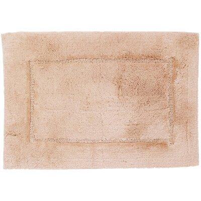 Clarke Bath Rug Color: Sand, Size: 17 W x 24 L