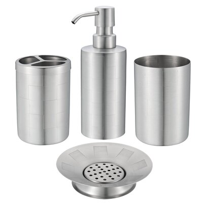 Ellison 4-Piece Bathroom Accessory Set
