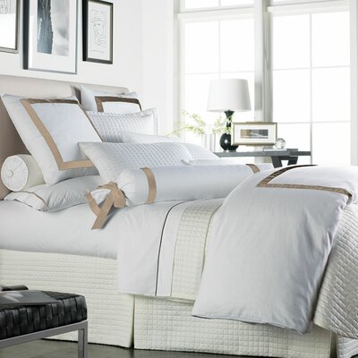 Chopin Duvet Cover Size: Queen, Color: White / Natural