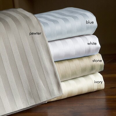 Milne 800 Thread Count Egyptian Quality Cotton Stripe Pillow Cases