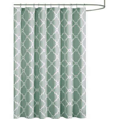 Somerset Shower Curtain Color: Seafoam
