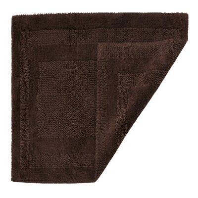 Clarke Bath Mat Size: 17 W x 24 L, Color: Java