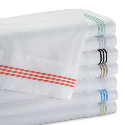 Stowe Sheet Set Color: Platinum, Size: Twin