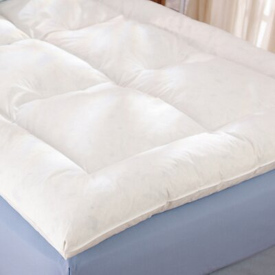 Alcott Down Alternative Fiber Bed Topper Size: Twin