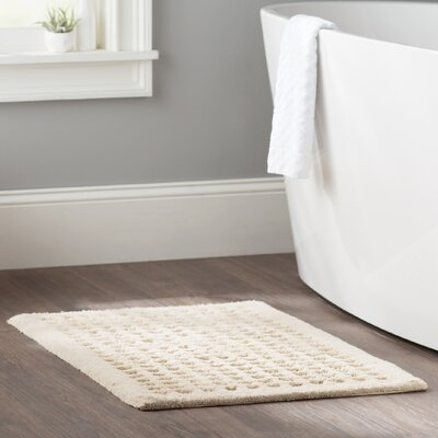 Bath Rug Color: Tan
