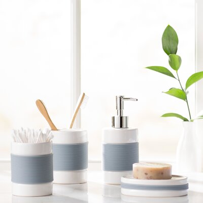 Hardy 4-Piece Bathroom Accessory Set