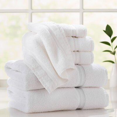 Thompson Platinum Hotel 6 Piece Towel Set