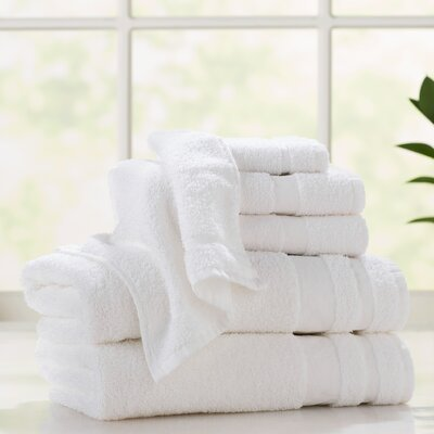 Tolstoy Platinum Hotel 6 Piece Towel Set
