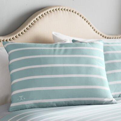Andersen Sham Size: Standard, Color: Seaside Aqua