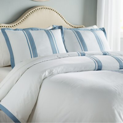 McCourt Reversible Duvet Cover Size: Full/Queen
